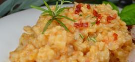 Tomaten-Rosmarin-Risotto