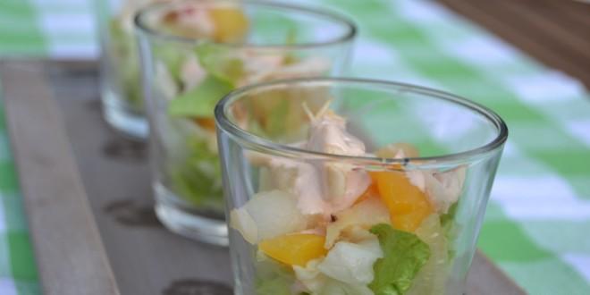 Brathähnchensalat