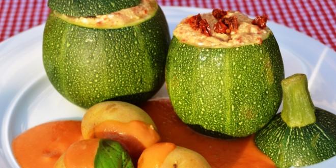 gefüllte Zucchini Thermomix