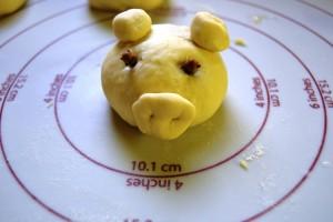 Schweinchen zusammengesetzt