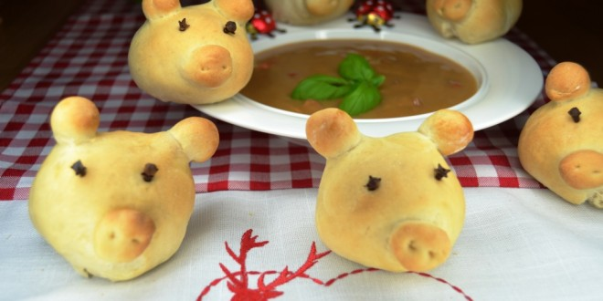 Hefeschweinchen aus dem Thermomix