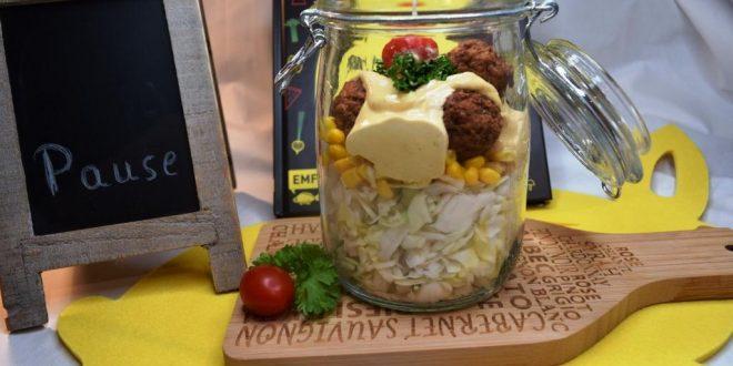 Weißkohlschichtsalat aus dem Thermomix