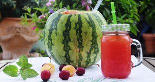 Melonenbowle aus dem Thermomix