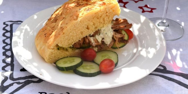 Pulled pork greek style aus meinem Thermomix