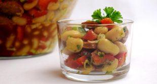 Bohnensalat aus meinem Thermomix