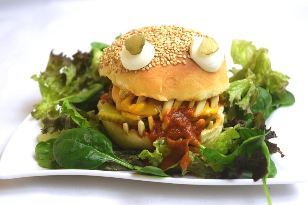 Monsterburger aus meinem Thermomix