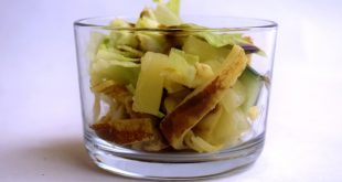 Pfannkuchensalat aus meinem Thermomix