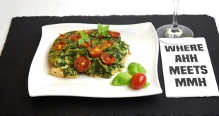 Spinat-Lachs-Frittata