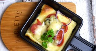 Crepes für das Raclette aus meinem Thermomix