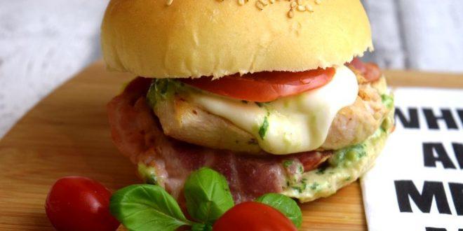 Chickenburger Caprese