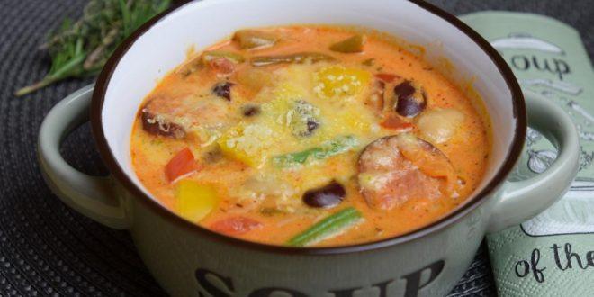 Bohnensuppe aus meinem Thermomix