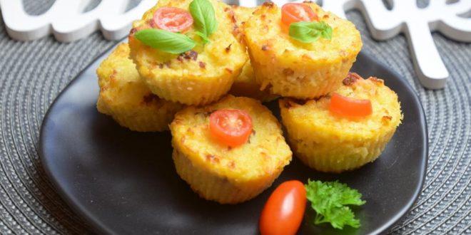 Reibekuchen-Muffins aus meinem Thermomix