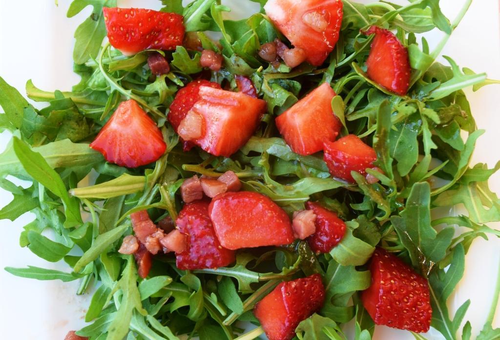 Erdbeer-Rucola-Salat Thermomix
