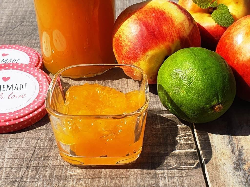 Nektarinen-Mango-Marmelade aus meinem Thermomix